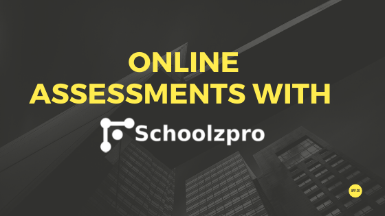 conducting online assessments for school students